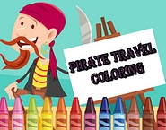 Pirate Travel Coloring