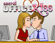 Secret Office Kiss