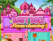 Princess Baby Doll House Cleanup