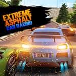 Extremes Asphalt Autorennen