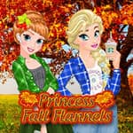Princess Fall Flannels